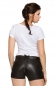 Preview: Stockerpoint Damen Trachten Lederhose MONA kurz blacknappa