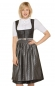 Mobile Preview: Stockerpoint Mididirndl FABIA 70cm 2tlg. anthrazit schiefer